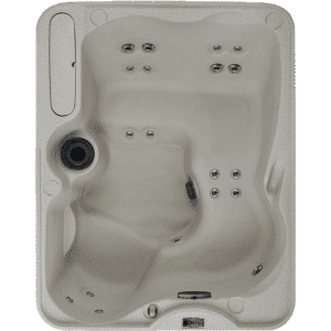 Azure freeflow hot tub top view