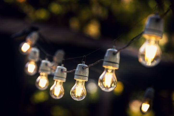 back yard decorating ideas outdoor lighting