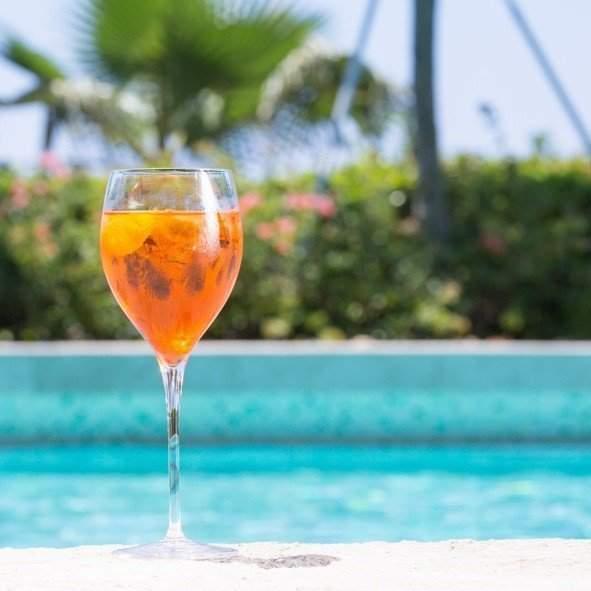 grape sparkler cocktail