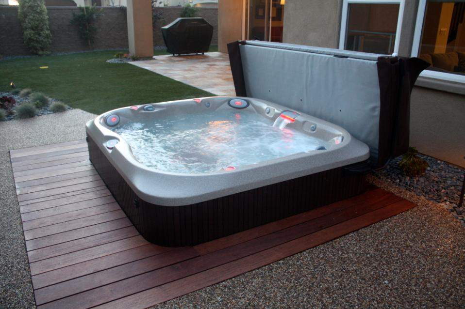 Hot Tub Location - Site Selection