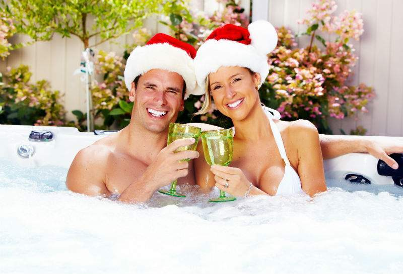 Why you need a hot tub for Christmas