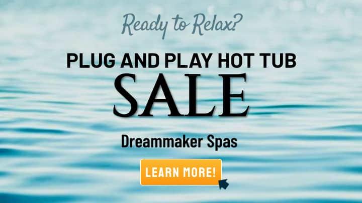 Plug and Play Hot Tub Sale