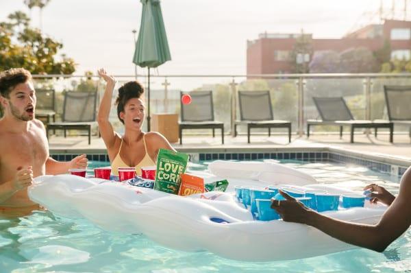 fun hot tub games